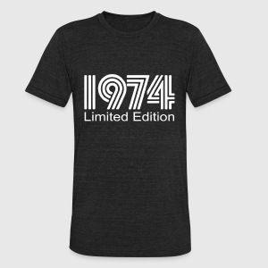 Limited Edition 1974 - Unisex Tri-Blend T-Shirt by American Apparel
