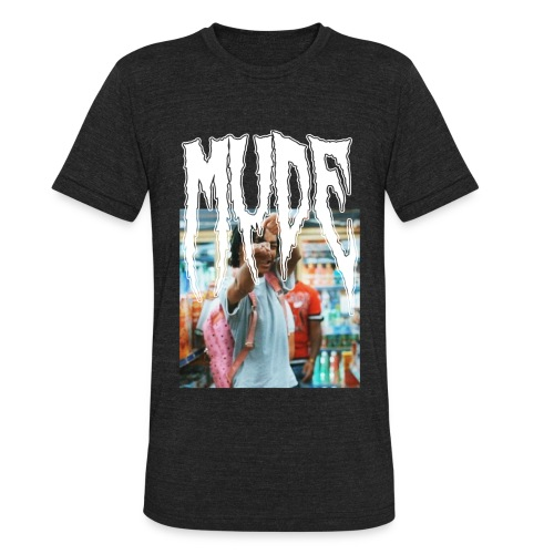 Mude Gang shiiiii - Unisex Tri-Blend T-Shirt