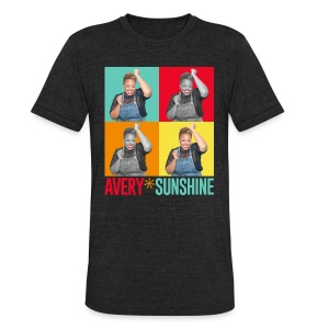 Hollywood Squares - Unisex Tri-Blend T-Shirt by American Apparel