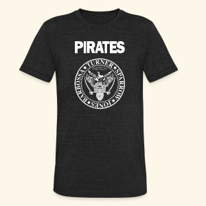 Punk Rock Pirates [heroes] - Unisex Tri-Blend T-Shirt by American Apparel