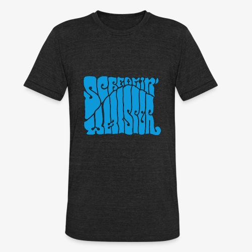 Screamin' Whisper Retro Logo - Unisex Tri-Blend T-Shirt
