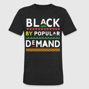 Black by popular demand - Unisex Tri-Blend T-Shirt by American Apparel