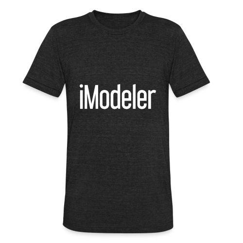 The iModeler Pure T-Shirt - Unisex Tri-Blend T-Shirt