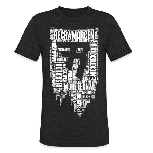 Raider Shirt 2018 Final - Unisex Tri-Blend T-Shirt