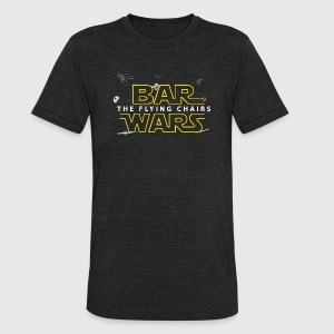 BAR WARS - Unisex Tri-Blend T-Shirt by American Apparel