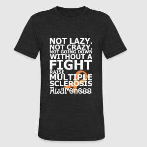 Multiple Sclerosis Awareness - Unisex Tri-Blend T-Shirt by American Apparel