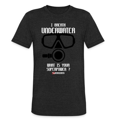 DIVER SCUBA fun - Unisex Tri-Blend T-Shirt