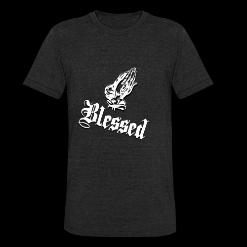 Blessed White - Unisex Tri-Blend T-Shirt