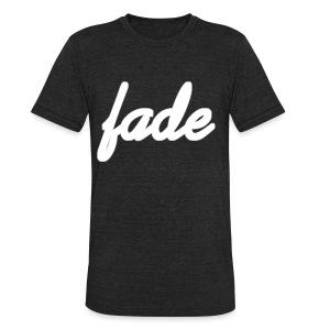 Fade Official Cursive - Unisex Tri-Blend T-Shirt