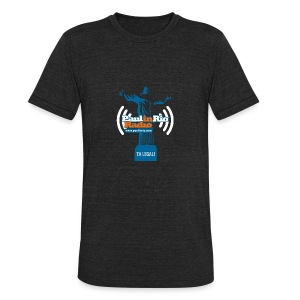 Paul in Rio Radio - The Thumbs up Corcovado #2 - Unisex Tri-Blend T-Shirt by American Apparel