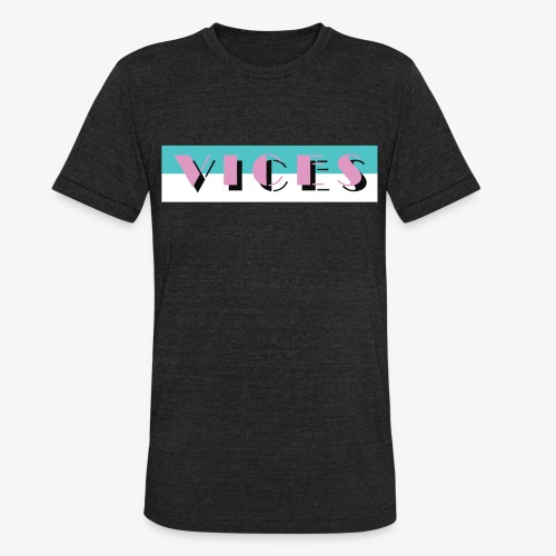 Miami Vice Design - Unisex Tri-Blend T-Shirt