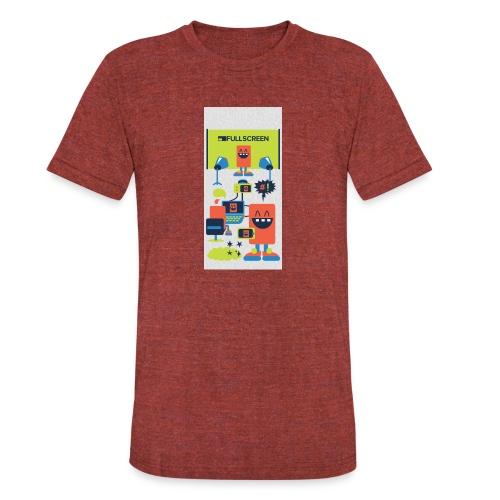 iphone5screenbots - Unisex Tri-Blend T-Shirt