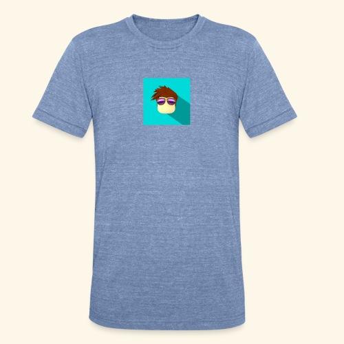 NixVidz Youtube logo - Unisex Tri-Blend T-Shirt