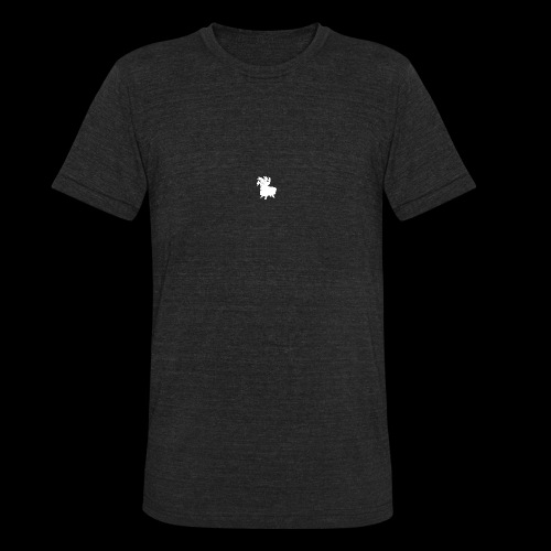 LOOT LLAMA THREE HEADS HYDRA - Unisex Tri-Blend T-Shirt