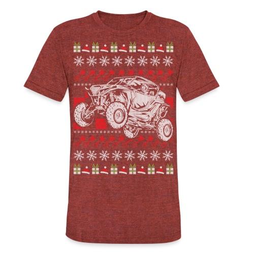 UTV Racing Christmas - Unisex Tri-Blend T-Shirt