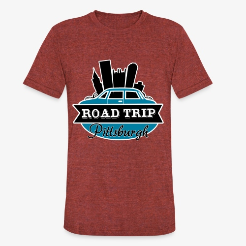 road trip - Unisex Tri-Blend T-Shirt