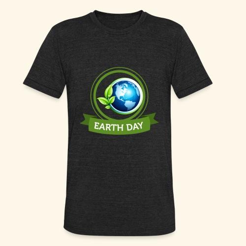 Happy Earth day - 3 - Unisex Tri-Blend T-Shirt