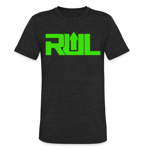 RUL Minimalist Logo - Unisex Tri-Blend T-Shirt