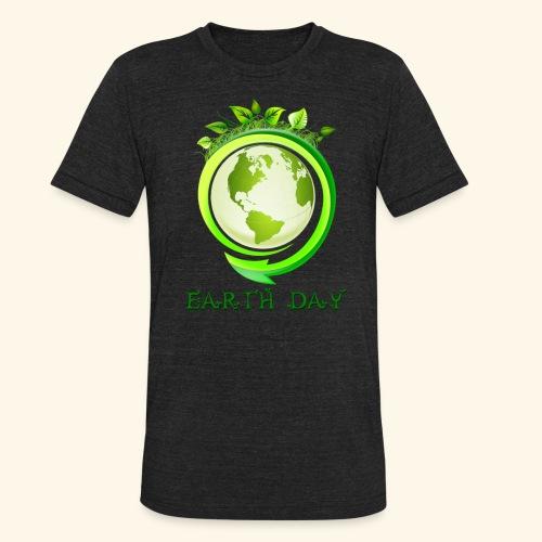 Happy Earth day - 2 - Unisex Tri-Blend T-Shirt