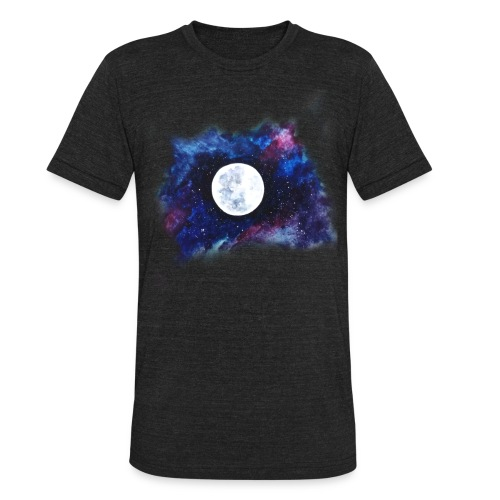 moon shirt - Unisex Tri-Blend T-Shirt