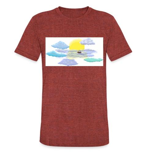 Sea of Clouds - Unisex Tri-Blend T-Shirt
