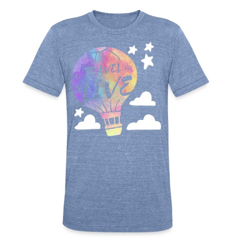 To Travel Is To Live - Unisex Tri-Blend T-Shirt