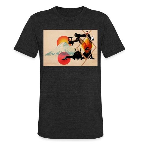 Japaned - Unisex Tri-Blend T-Shirt