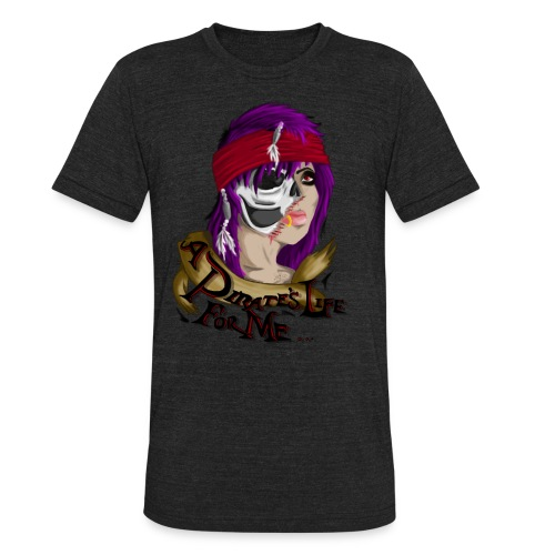 pirate Stephytoons - Unisex Tri-Blend T-Shirt