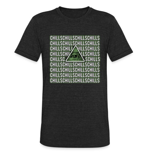 Illuminati Chills - Unisex Tri-Blend T-Shirt