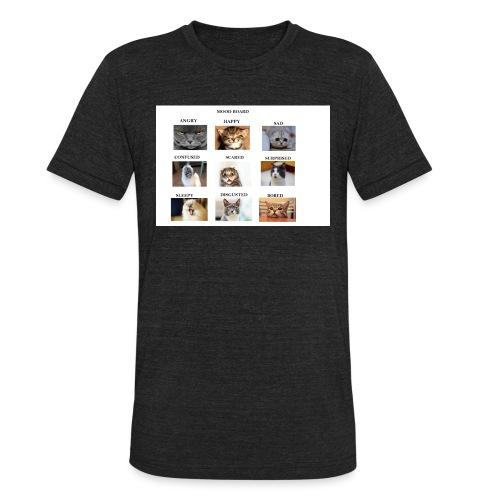MOOD BOARD - Unisex Tri-Blend T-Shirt