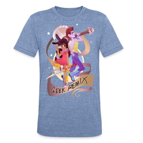 GRdesignfinal 1 png - Unisex Tri-Blend T-Shirt