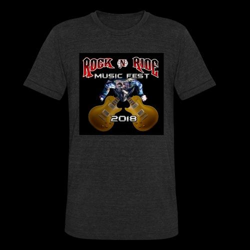 RocknRide Design - Unisex Tri-Blend T-Shirt