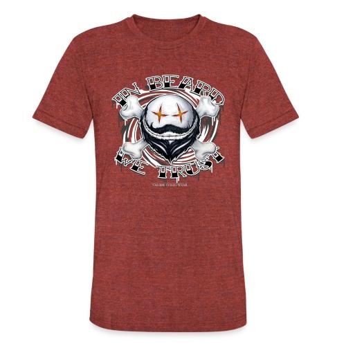 in beard we trust - Unisex Tri-Blend T-Shirt