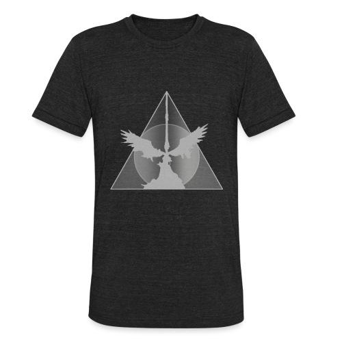 Deathly Hallows White - Unisex Tri-Blend T-Shirt