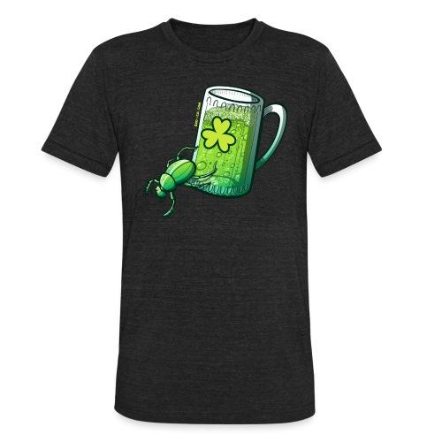 Saint Patrick's Day Beetle - Unisex Tri-Blend T-Shirt