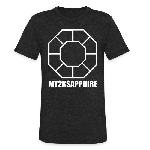 Unisex White Sapphire Hoodie - Unisex Tri-Blend T-Shirt