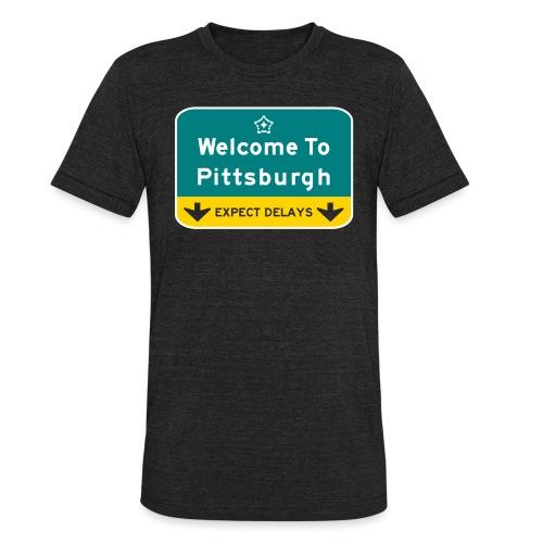 expect delays - Unisex Tri-Blend T-Shirt