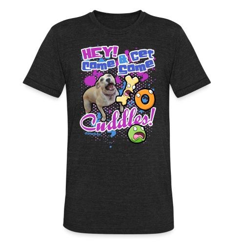 11 dnbo cuddle3 - Unisex Tri-Blend T-Shirt