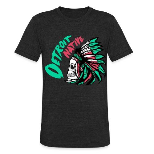 Detroit Native color - Unisex Tri-Blend T-Shirt