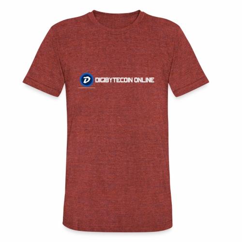 Digibyte online light - Unisex Tri-Blend T-Shirt