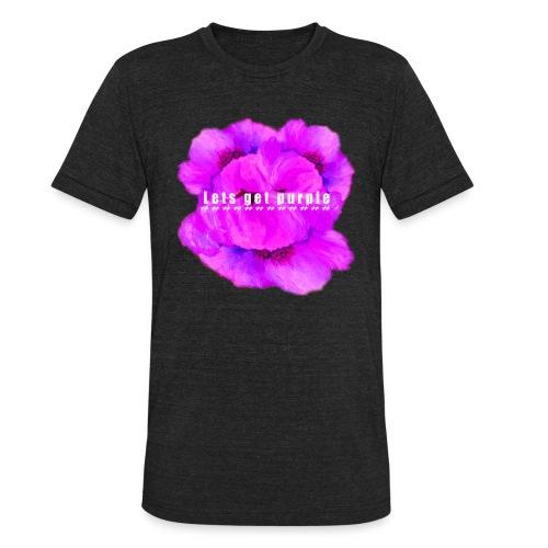 lets_get_purple_2 - Unisex Tri-Blend T-Shirt
