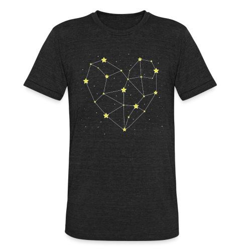 Heart in the Stars - Unisex Tri-Blend T-Shirt