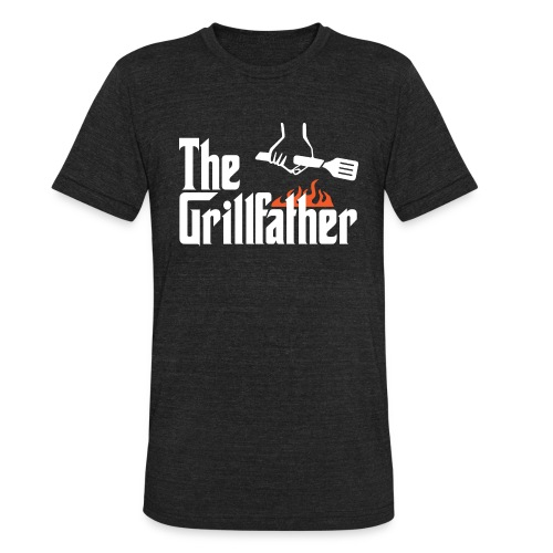 The Grillfather - Unisex Tri-Blend T-Shirt