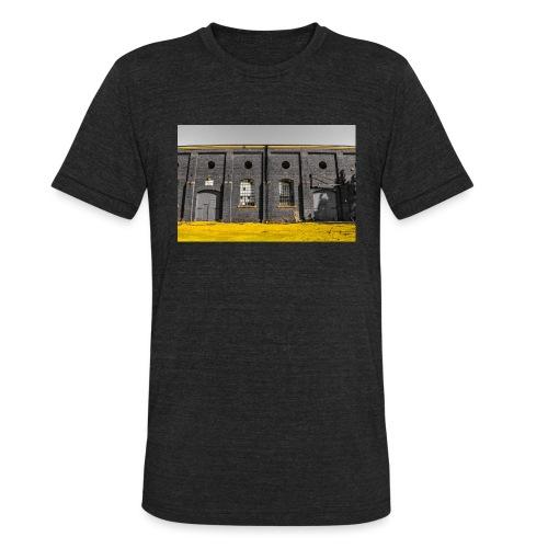 Bricks: who worked here - Unisex Tri-Blend T-Shirt