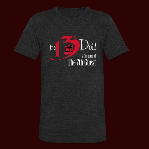 The 13th Doll Logo - Unisex Tri-Blend T-Shirt
