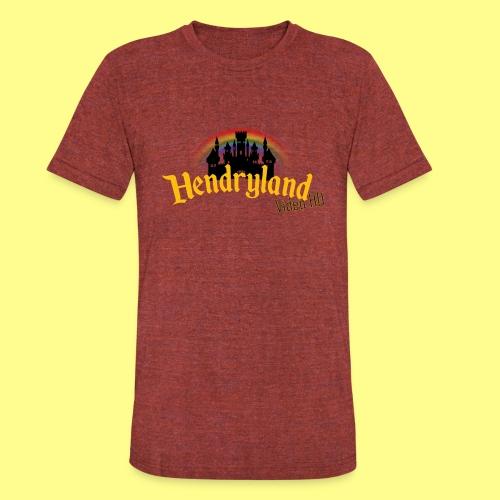 HENDRYLAND logo Merch - Unisex Tri-Blend T-Shirt
