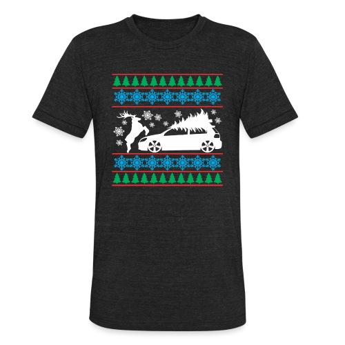 MK6 GTI Ugly Christmas Sweater - Unisex Tri-Blend T-Shirt