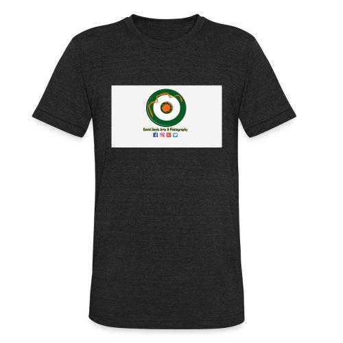 David Doyle Arts & Photography Logo - Unisex Tri-Blend T-Shirt