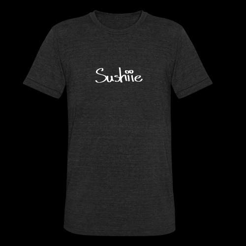 sushiie logo - Unisex Tri-Blend T-Shirt