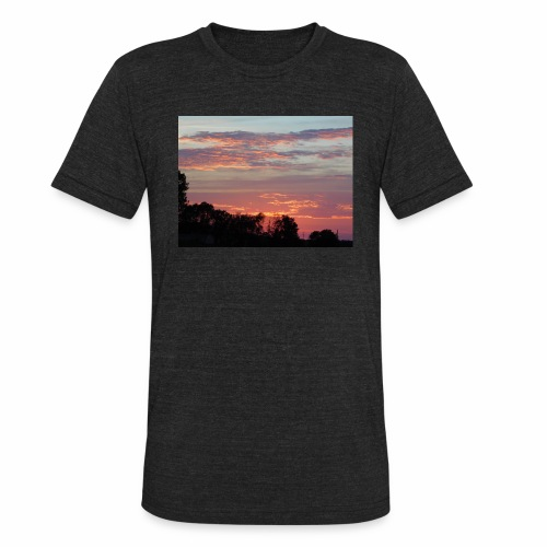 Sunset of Pastels - Unisex Tri-Blend T-Shirt
